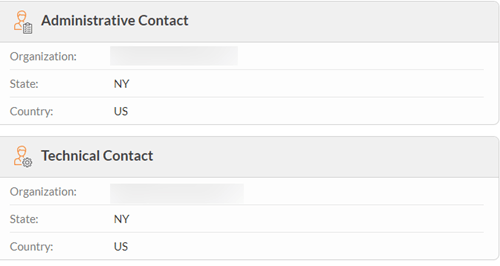 whois contacts