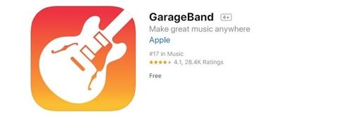 GarageBand App Store