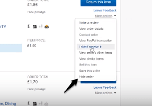 How To Delete Purchase History On Ebay