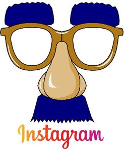 instagram fake nose