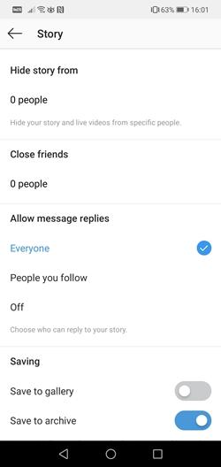 story settings