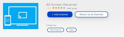 All Screen Receiver Roku