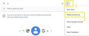 delete activity by