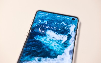galaxy s10 - how to split the screen