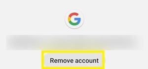 remove account