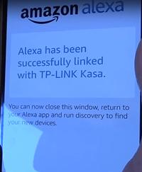 alexa linked