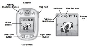 change time on a leapfrog watch