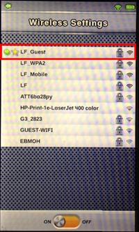 change wifi