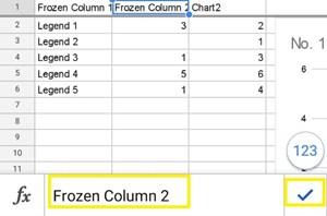 frozen column 2