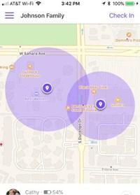 overlapping radius