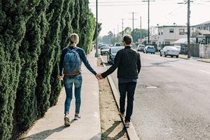 random couple
