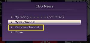 remove channel