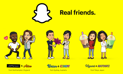 Snapchat your loved one