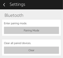 amazon echo won't connect to bluetooth device