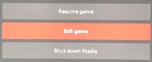 Spiel verlassen