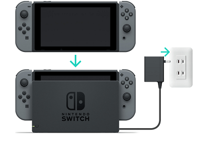 Check if Nintendo Switch is Charging