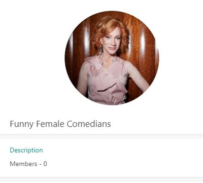 Funny Female Comedians