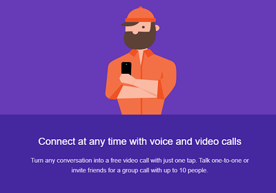 Is Google Hangouts Free connect at anytime