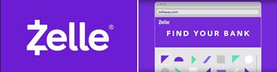 Zelle find your bank