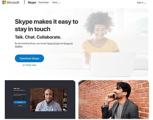 Best GroupMe Alternatives - Skype