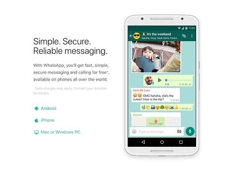 Лучшие альтернативы GroupMe - WhatsApp