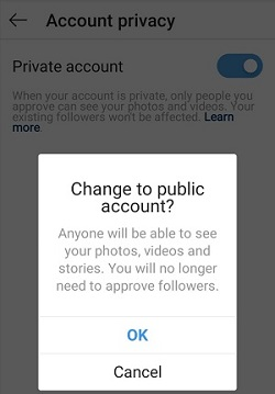 Instagram repost a story on your story