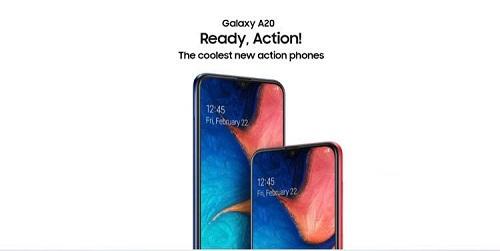 The Samsung A20 is so cheap