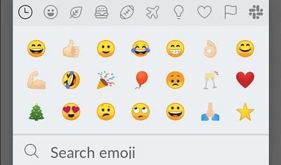 search emoji