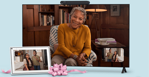 Facebook portal easy to use for the elderly