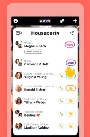 house party use hand