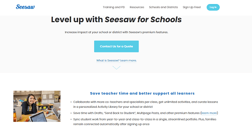 seesaw schools