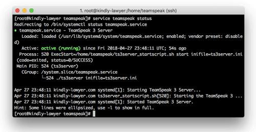 TeamSpeak Create a private server