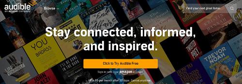 see wish list in audio app