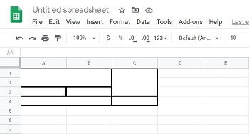 Google Sheets How to make a cell bigger