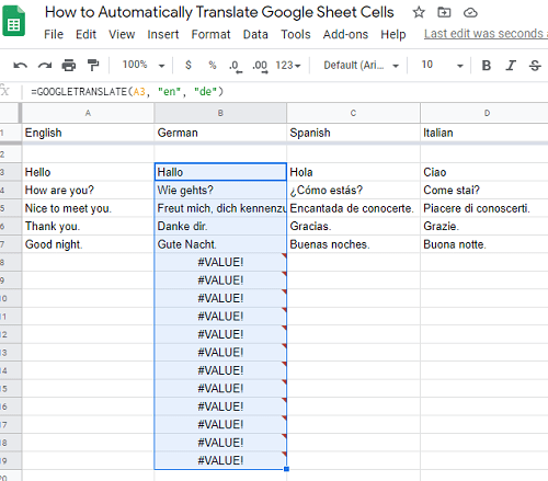 auto translate sheet cells