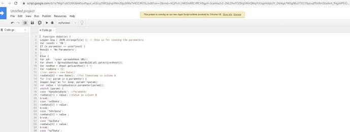 script editor code