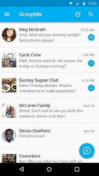 Delete A GroupMe Group on Android