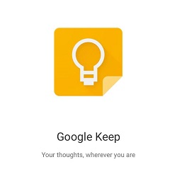 Delete Notes in Google Keep
