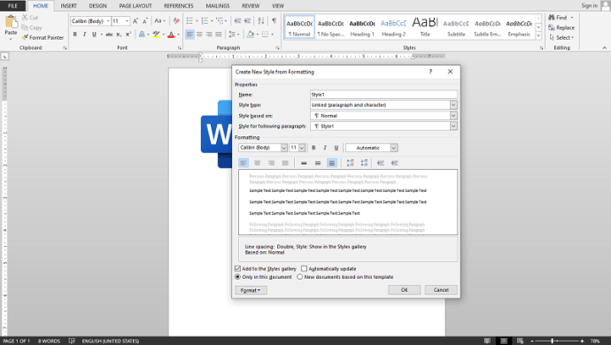How to Double Space in Word Quick