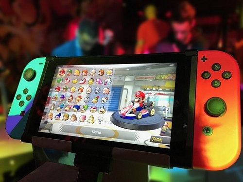 nintendo switch is moddable