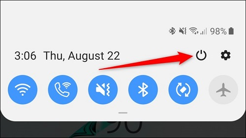 S10 Note Plus How to turn off