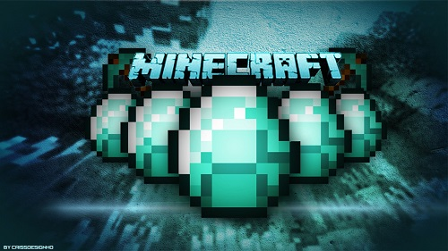 Diamonds in Minecraft