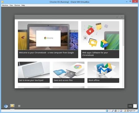 How to run Chrome OS from USB - chrome os running