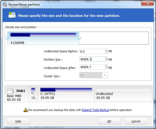 EaseUS Partition Master Home Edition - 03