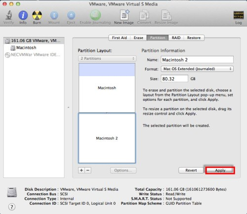 resize mac partitions - 07