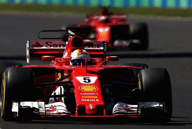 Macaristan 2nci gün Testlerinde Lider Yine Vettel