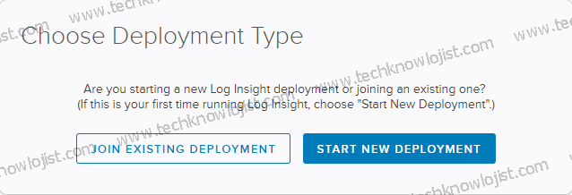 VMware vRealize Log Insight Kurulum Bölüm2