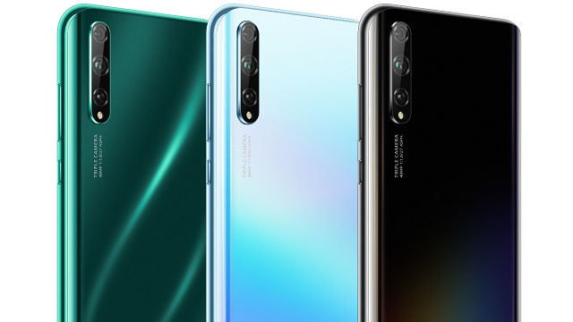 Renders show Huawei P Smart S design