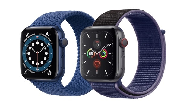 Apple Watch Series 6 vs Apple Watch Series 5