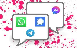 whatsapp signal messenger telegram comparison